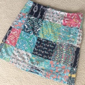 Lilly Pulitzer summer skirt sz 6
